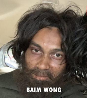 Baim Wong saat menyamar jadi orang gila