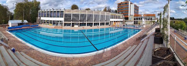 bassin olympique extérieur de Nogent Nautique