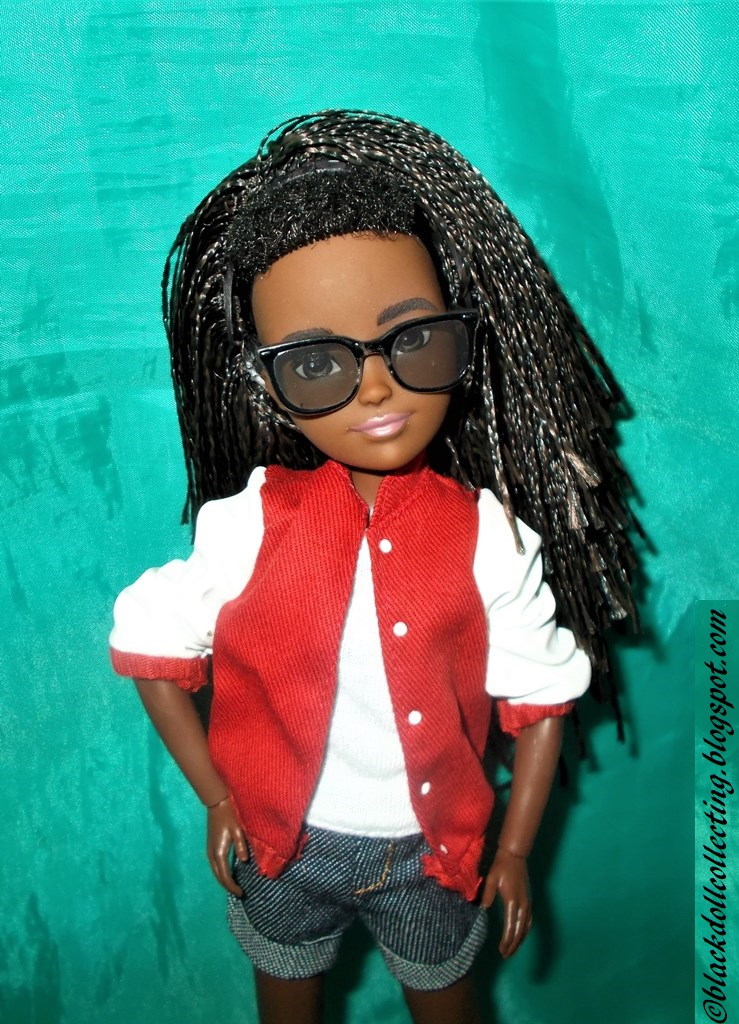 Creatable World Doll Fashions Clothes Black Leather Look Jacket