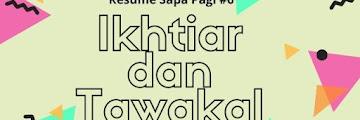 Ikhtiar dan Tawakal