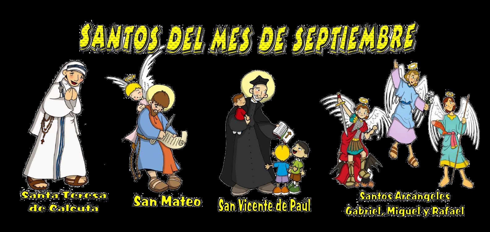 Religión Severo Ochoa Santos Del Mes De Septiembre