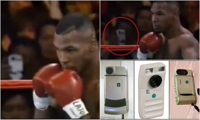 Time Traveler Caught In A Boxing Match