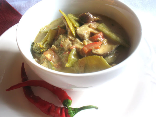Thai Mixed Vegetable Soup
