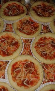 Resep Cara Membuat Pizza Mini Mudah ala Bunda Nurul Linayanti
