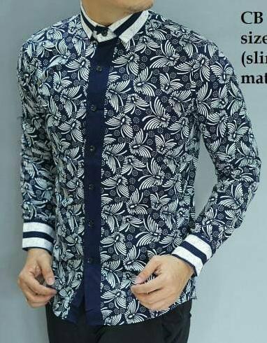 Model Baju Batik Pria Kombinasi Lengan Panjang : model, batik, kombinasi, lengan, panjang, Model, Batik, Lengan, Panjang, Kombinasi, Polos