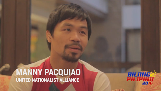 Pastor: 'I Decided to Vote for Manny', after Manny's statement against LGBT