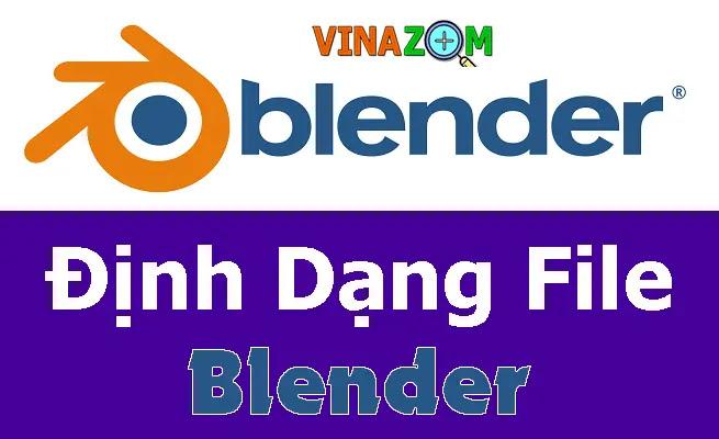 định dạng file blender