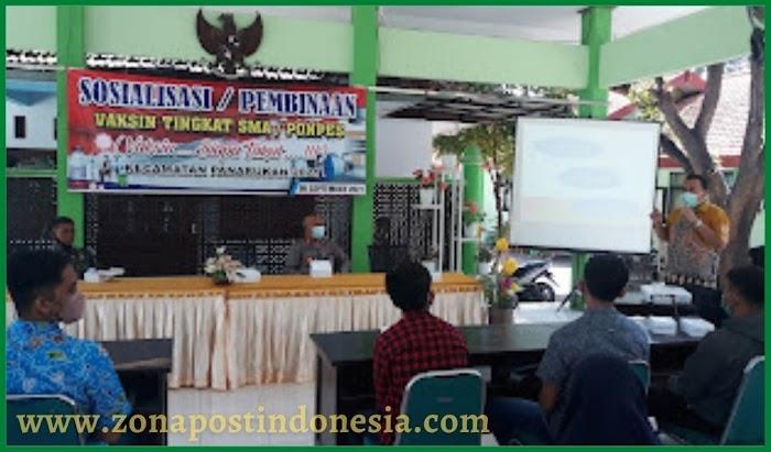 Satgas Covid-19 Kecamatan Panarukan, Lakukan Sosialisasi Vaksinasi Kepada Pelajar Tingkat SLTA Sederajat