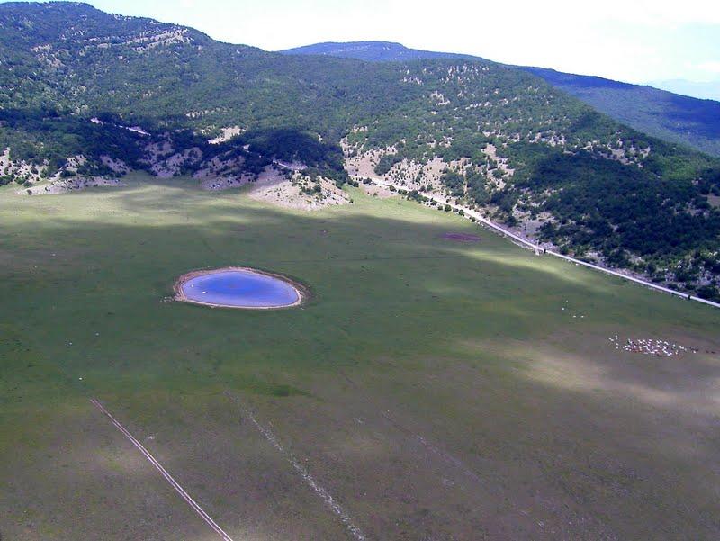 Sirente crater