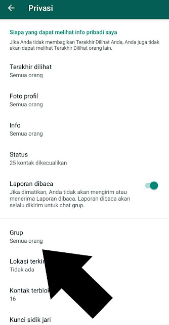 2 Cara Agar Nomer WA Kita Tidak Dimasukkan Oleh Orang Di Grup Whatsapp