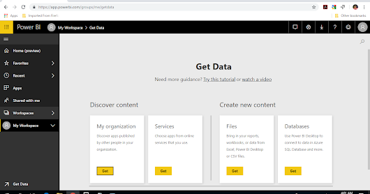 Connected Google Analytics™ and GitHub® to Power BI™