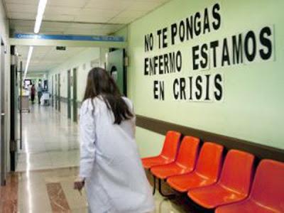 Crísis en Sanidad