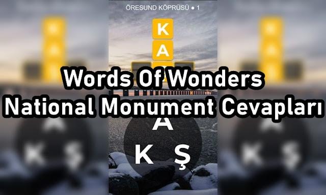 Words Of Wonders National Monument Cevaplari