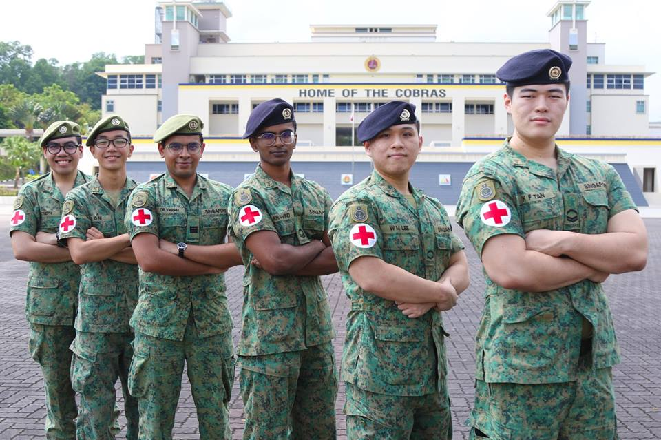 SAF medics help man, stabilise his spine in Mandai accident, posted on Tuesday, 26 February 2019
