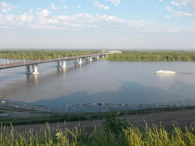 уровень воды в реке обь