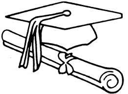 Colorear Diplomas Graduación Y Graduados