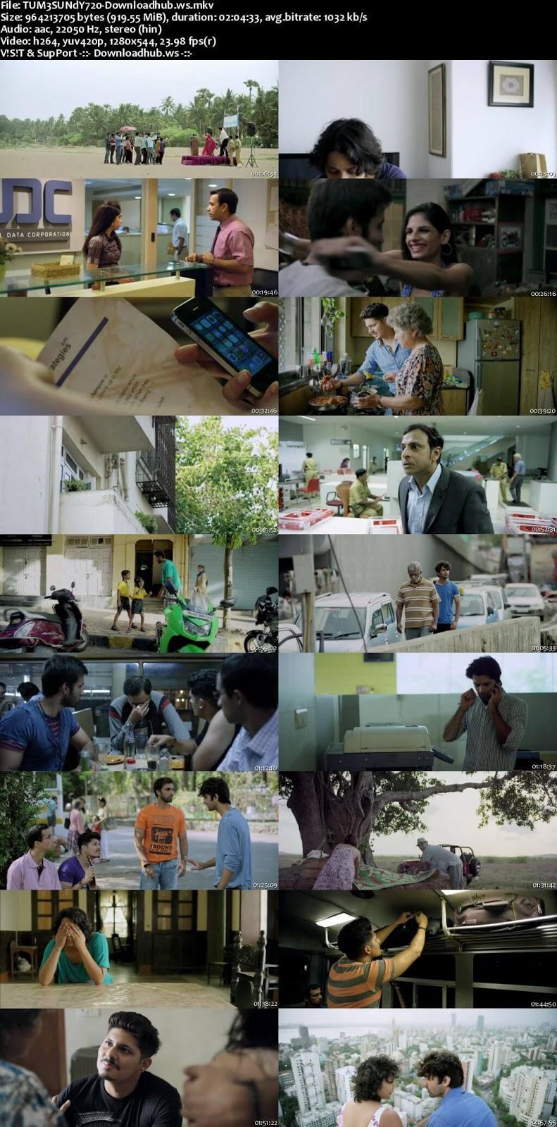 Tu Hai Mera Sunday 2017 Hindi 720p HDRip