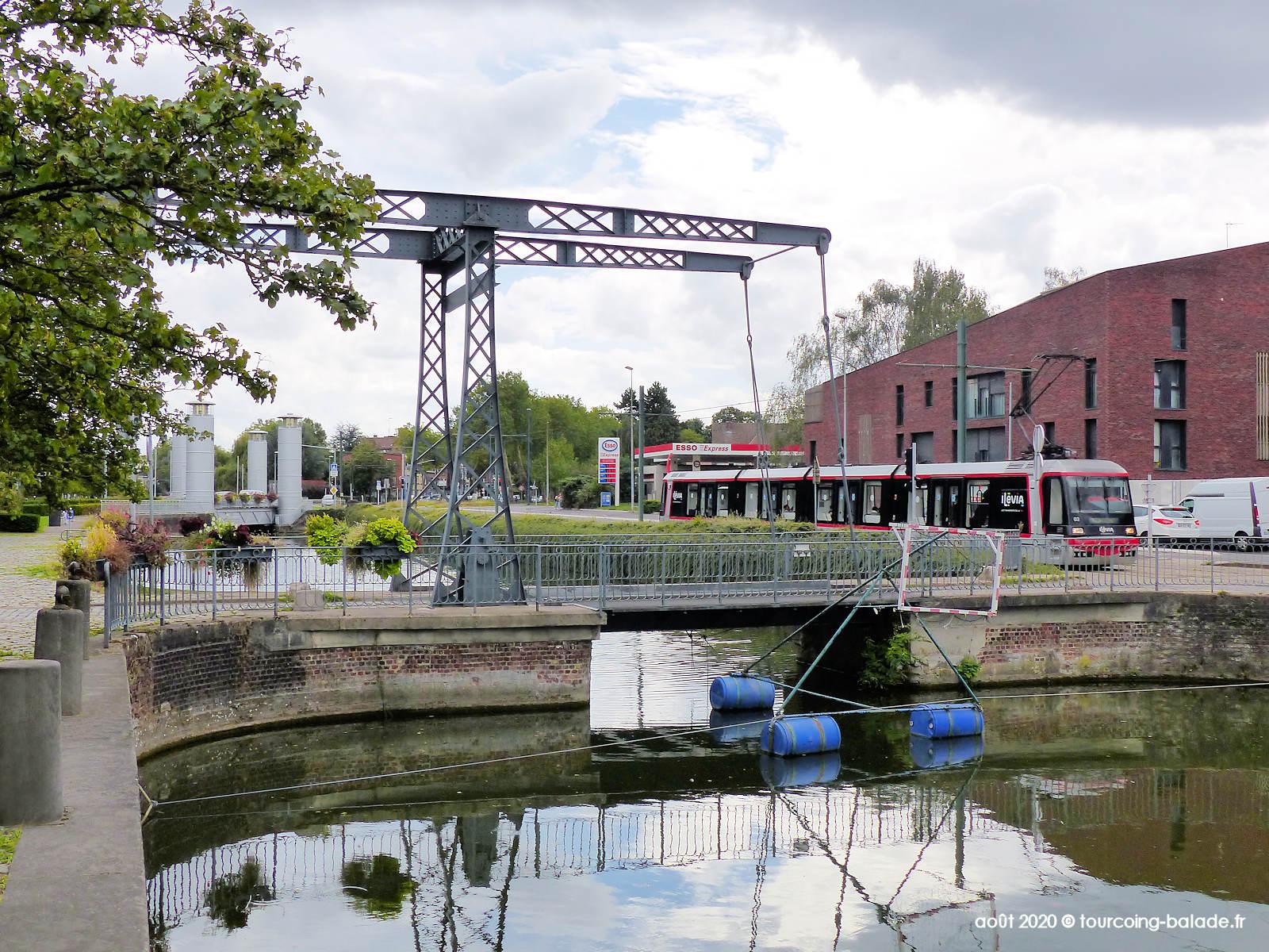 Pont de l'Espierre et Hydraulique, Tourcoing 2020
