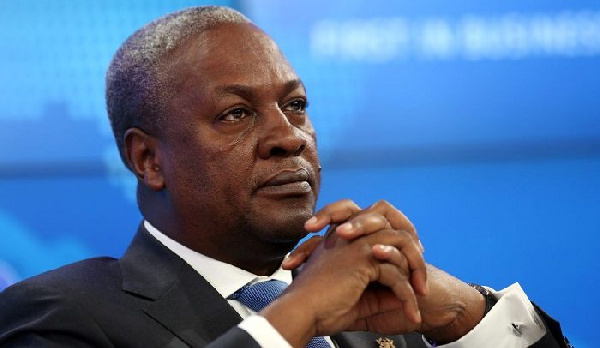 Praise-singing Akufo-Addo won't let coronavirus go away - Mahama