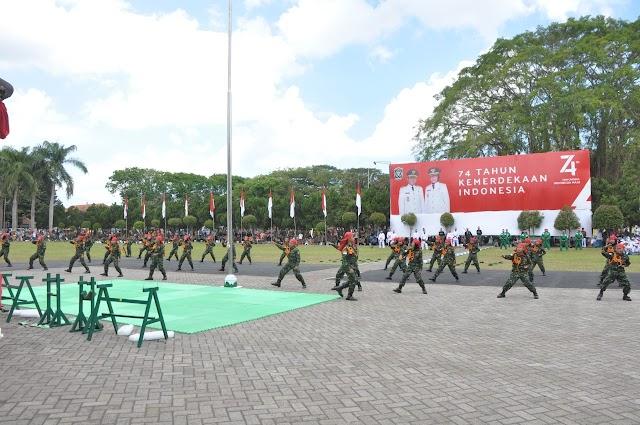 Little Army, Meriahkan Upacara Detik-detik Proklamasi Di Lumajang