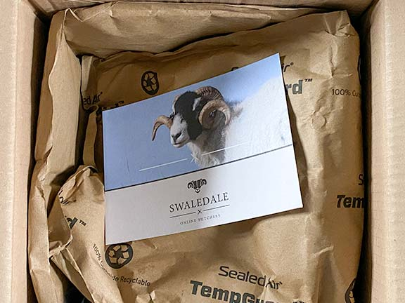 swaledale meat delivery box
