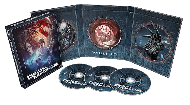 Turbine Media's Limited Edition DEATH MACHINE 3-Disc Set!