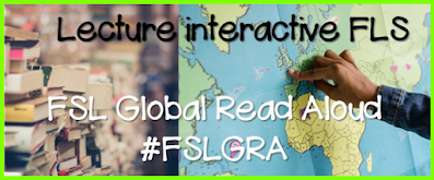 French as a Second Language Global Read Aloud iamge that shows teacher connecting with others around the world