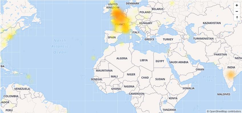 عُطل كبير يضرب العديد من خدمات جوجل