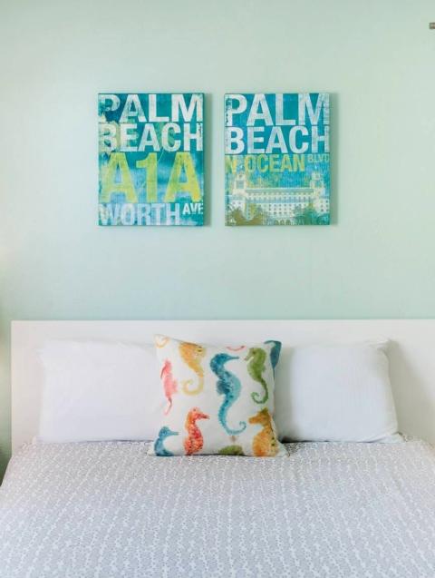Coastal Beach Pillow Ideas How to Arrange on Bed Pop