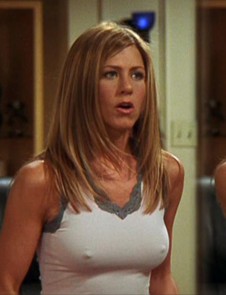 aniston breast jennifer photo
