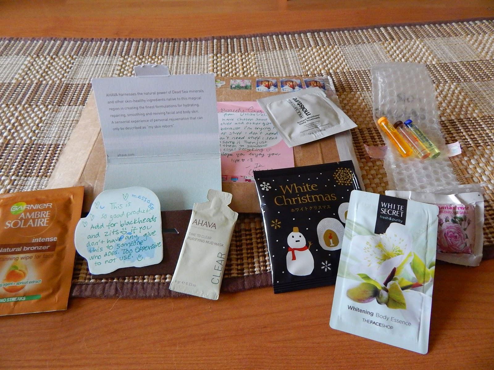 ~34 I love samples! - czyli próbki kosmetyków z całego świata