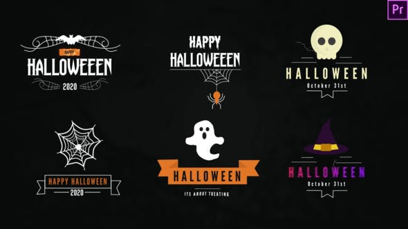 Halloween Titles Pack[Videohive][Premiere Pro][28858249]