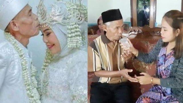 Pernikahannya dengan Kakek Berumur 78 Tahun Hanya Bertahan 22 Hari, Noni Tak Nafsu Makan Setelah Dapat Surat Talak