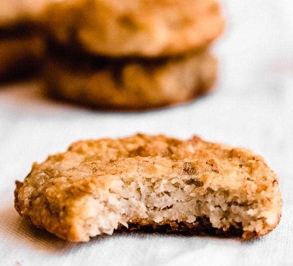Banana Bread Cookies (gluten free, vegan) #vegetarian #veganrecipe