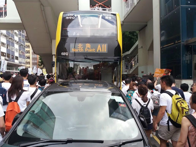 protest over Hong Kong's proposed extradition bill