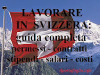 lavorare in svizzera: permessi, contratti, stipendi e salari