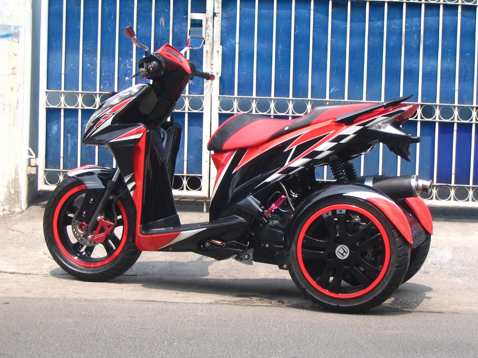 Modifikasi JOK MOTOR Jok Motor Vario Roda Pesanan Mr Nandang