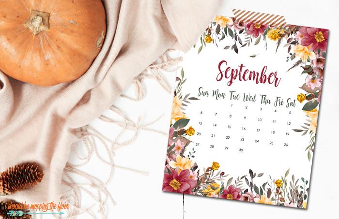 Printable September Calendars