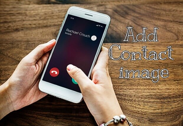 Set contact image Android