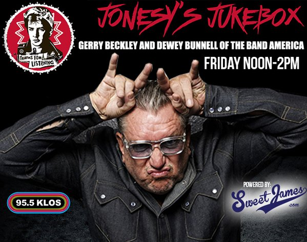 Jonesys Jukebox, KLOS 95.5