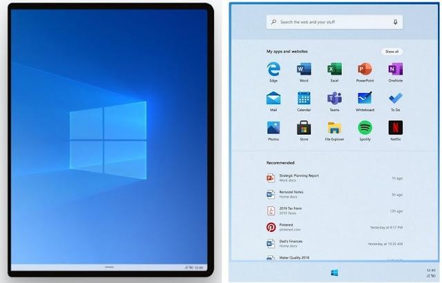 TaskBar Windows10X