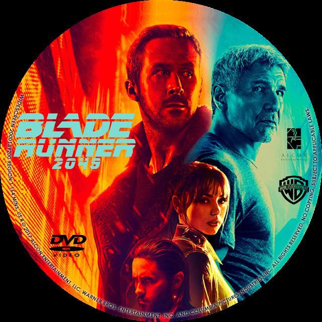 Blade Runner 2049 DVD Label