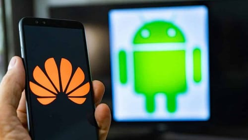 Huawei revenue drops as warning of a challenging year