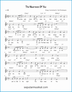 chord the nearness of you lagu jazz standar