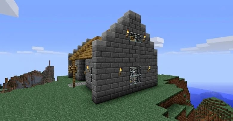 How to make glass in Minecraft