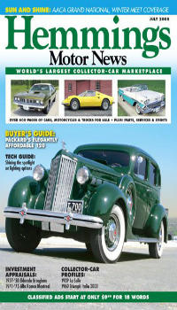 HEMMINGS WORLD'S LARGEST COLLECTOR CAR MARKETPLACE-200x350