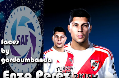 PES 2020 Faces Enzo Perez by Gordoumbanda