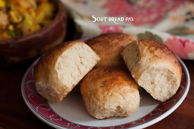 Soft bread pav can be prepared in the cooker as well