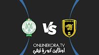 مشاهدة مباراة الاتحاد والرجاء الرياضي القادمة كورة اون لاين بث مباشر اليوم 21-08-2021 في نهائي كأس العرب