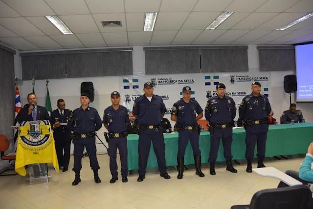 GCM de Itapecerica da Serra celebra 22 anos em solenidade festiva